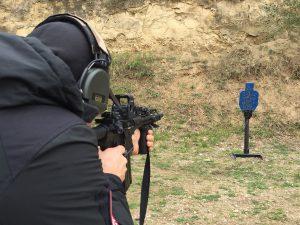mann mit karabiner