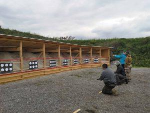 Weiters Schießtraining