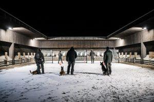 K9 Training am Schießstand